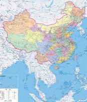 中国地图高清电子版jpg 可放大版