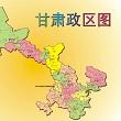 甘肃卫星地图高清版大图 jpg格式完整版