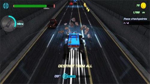 最高速度高速公路赛车