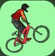 跳跃的堆栈自行车