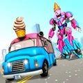 冰淇淋改造机器人无敌